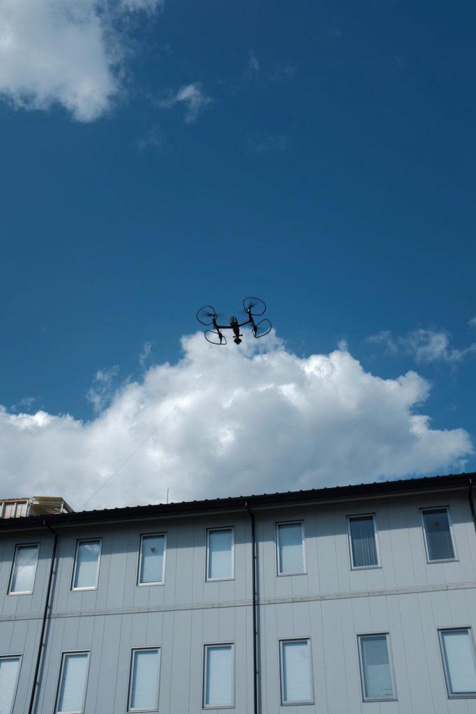 空撮ポイントへの移動